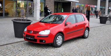 Autopůjčovna Brno VW Golf V 1.6i