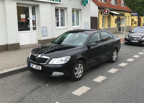 Rent Car Brno Octavia DSG
