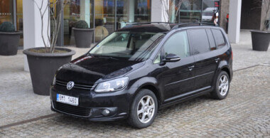 VW Touran 7 míst DSG