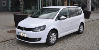 VW Touran 1.6 TDI DSG