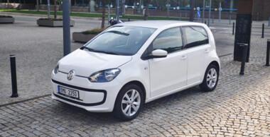 Autopůjčovna Brno VW ECO Up! CNG